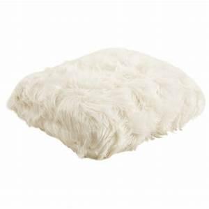 Plaid Blanc Pas Cher : plaid imitation fourrure blanc ntx1030c aubry gaspard ~ Teatrodelosmanantiales.com Idées de Décoration