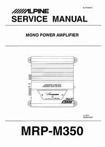 Free Download Alpine 3540 Amplifier Manual Programs
