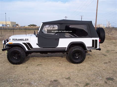 scrambler jeep years 1981 jeep scrambler
