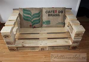 Euro Paletten : sofa aus 3 europaletten ansicht oben palettenm bel pinterest pallets and pallet projects ~ Orissabook.com Haus und Dekorationen