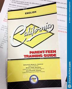 Motor Vehicles Dmv California America Drivers Handbook