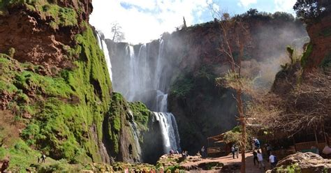 ouzoud waterfalls guided   marrakech  boat ride marrakech morocco getyourguide