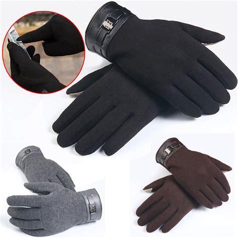 smartphone winter gloves fashion mens gloves winter finger smartphone touch