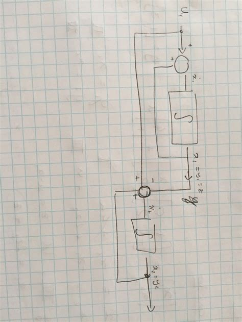 Control Engineering Block Diagram Using Integrator