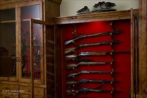 DIY In Wall Gun Cabinet Plans Wooden PDF woodworking