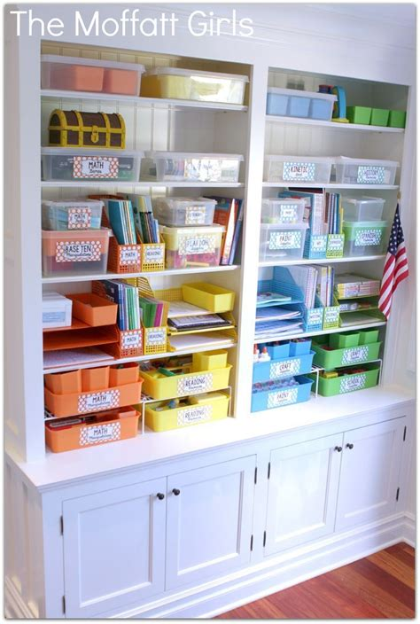 Homeschool Closet Organization Ideas by Get Your Classroom Organized Check Out This Post On How A