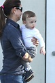 Silas Randall Timberlake Spotted With Nanny Arriving To ...
