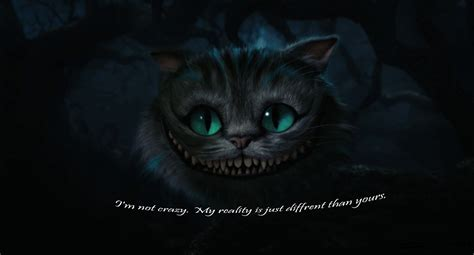 Tim Burton Cheshire Cat Quotes Quotesgram
