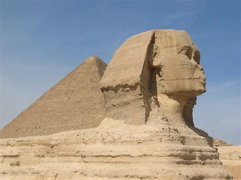 Sphinx, Pyramids, Historic, Egypt