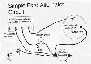 68 Ford Mustang Alternator Wiring Diagram