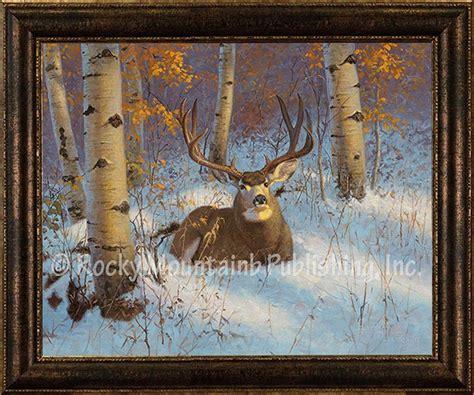 aspen sanctuary framed giclee canvas  hayden lambson