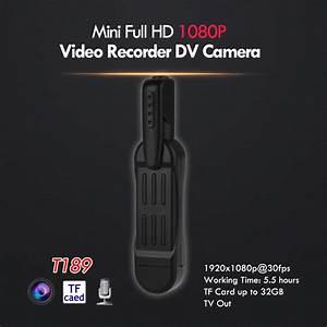 Mini T189 8 MP Full HD 1080P Pen Voice Recorder Digital ...