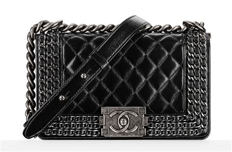 Chanel's Spring 2015 Bags Have Arrived In Stores. Chain Platinum. Life Lockets. Silicon Watches. Melee Diamond. Anchor Bangles. Layered Engagement Rings. Two Chains. Violet Tanzanite