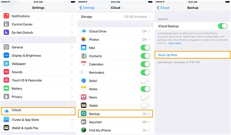 backing up iphone to icloud creating an iphone backup in itunes or icloud and why it
