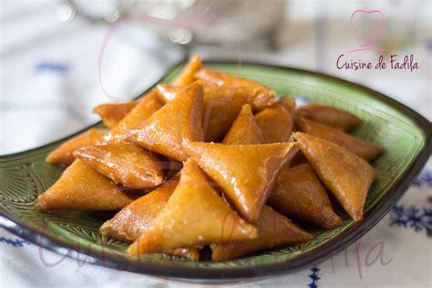 la cuisine aux images briwate aux amandes recette en vidéo cuisine de fadila