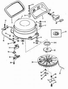 Mercury Marine 60 Hp  3 Cylinder  Starter Assembly  Manual   55  Parts