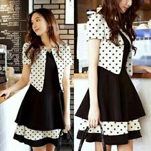 setelan baju mini dress pendek  cardigan wanita motif
