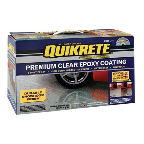quikrete epoxy garage floor coating kit buy the valspar 002 50032 22 quikrete epoxy coating clear