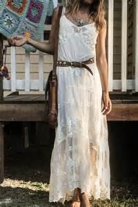 robe mariã e boheme dentelle robes de mode robe blanche hippie chic