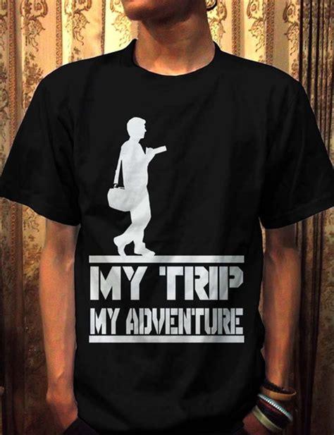 jual kaos my trip my adventure ot design mtma 3 hitam