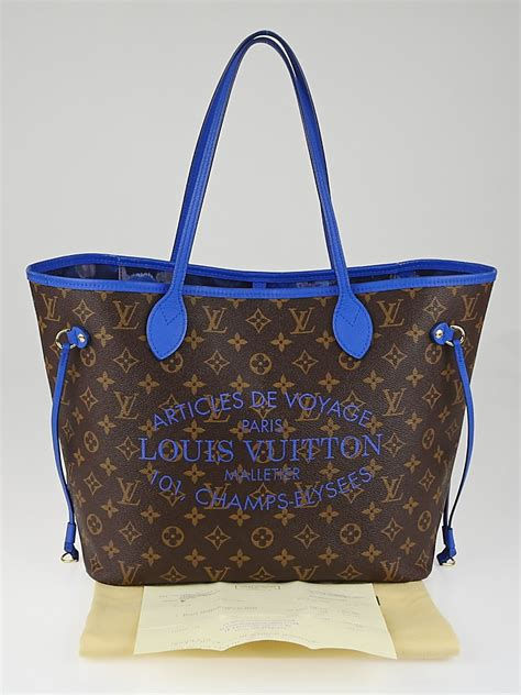 louis vuitton limited edition grand bleu monogram ikat