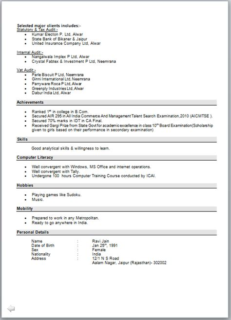 Cv Letter by Resume With Cover Letter Sle