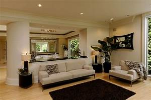 orange modern wall living rooms colours with black carpet With cream and black living room furniture