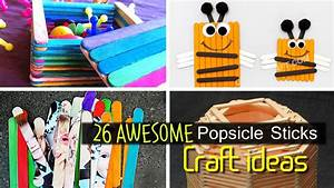 Awesome Popsicle Stick Craft ideas - YouTube