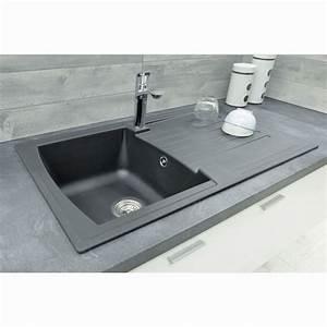 evier cuisine rond la matire de lu0027vier autres vues With salle de bain design avec evier granit 1 bac
