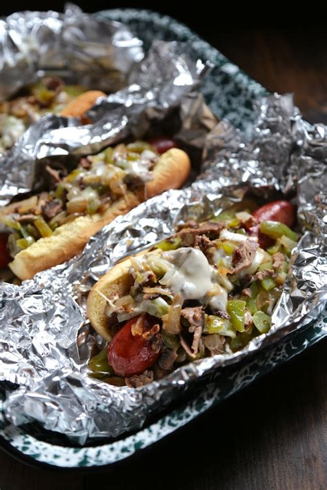 philly cheesesteak hot dog country cleaver