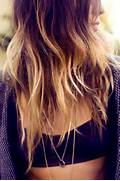ombre hair color on Tu...Tumblr Hair Color Inspiration