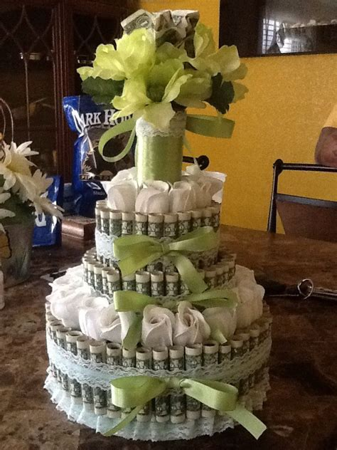wedding money cake gift ideas pinterest wedding