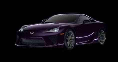 purple lexus purple lexus lfa yes please cars pinterest paint