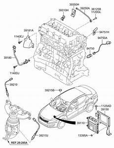 2013 Kia Optima Hybrid Electronic Control Of Engine