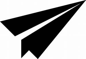 Paper Airplane Icon Clip Art at Clker.com - vector clip ...
