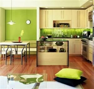 Farben Für Küche : farben f r k chenw nde 15 tolle r ckw nde in gr nen farbnuancen ~ Orissabook.com Haus und Dekorationen