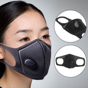 anti pollution face mask washable filtration respirator