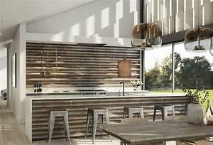 corrugated metal in interior design creative ideas for With kitchen cabinet trends 2018 combined with galvanized metal wall art