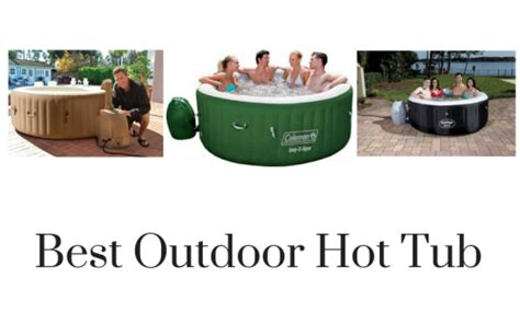 best spa tub reviews best outdoor tub reviews in 2019