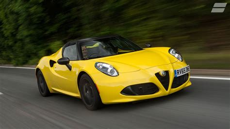 How Much Is The Alfa Romeo 4c by Alfa Romeo 4c Convertible 2017 Review Auto Trader Uk