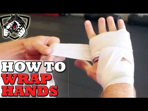 How To Wrap Hands For Boxing  Step By Step! Youtube