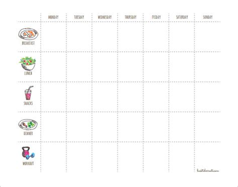 Weekly Fitness Plan Template by 27 Workout Schedule Templates Pdf Doc Free Premium