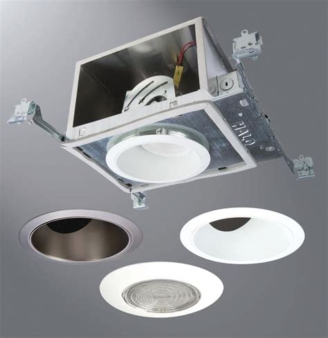 led recessed downlight system is designed for sloped