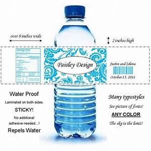 50 paisley water bottle labels color no diy With diy waterproof labels for water bottles