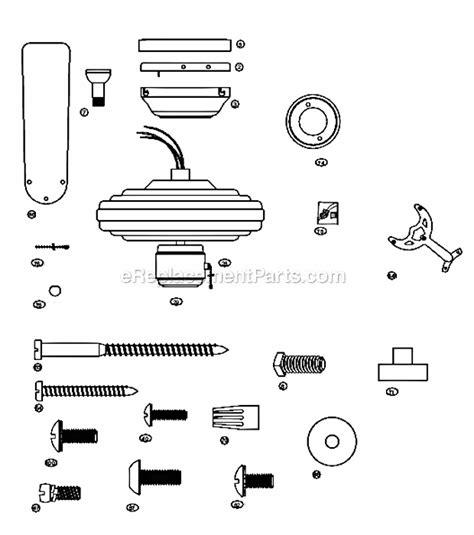 hunter ceiling fans replacement parts hunter 23775 parts list and diagram ereplacementparts com