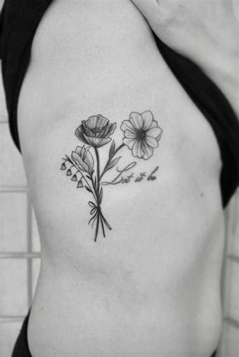 black  white flower tattoo  atlittletattoos ready