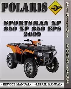 2009 Polaris Sportsman Xp 850 Xp 850 Eps Factory Service