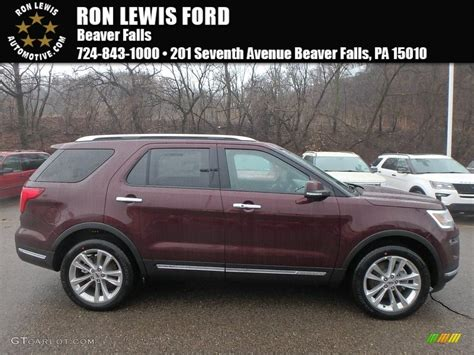 2018 Burgundy Velvet Ford Explorer Limited 4wd #124842743
