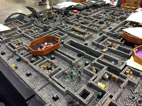 3d Printed Dungeon Tiles by 18 3d Printed Dungeon Tiles Heroic Maps Modular Kit