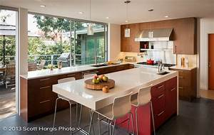 mid century modern kitchen upgraded by building lab With mid century modern kitchen design